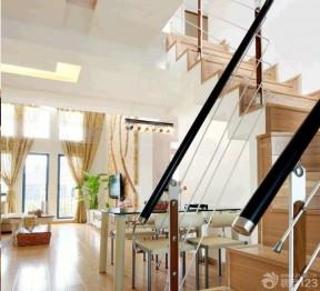 閣樓樓梯設計 欄桿扶手