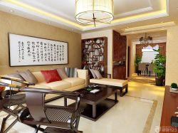 中式風格客廳博古架設計圖