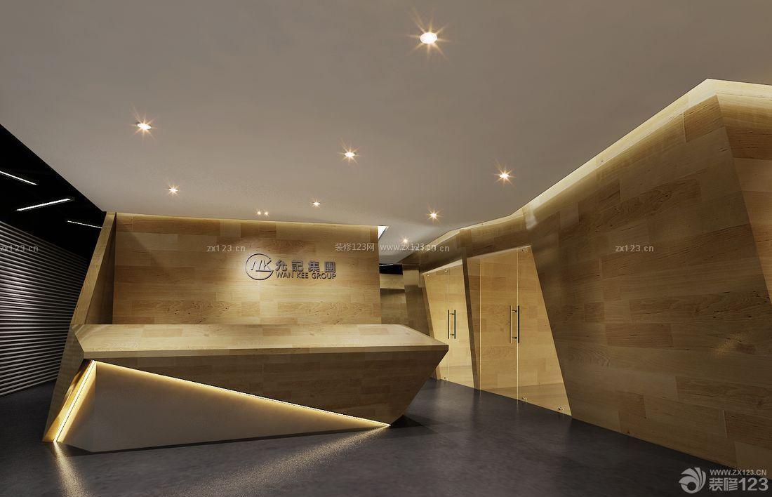 企业公司形象墙设计效果图大全