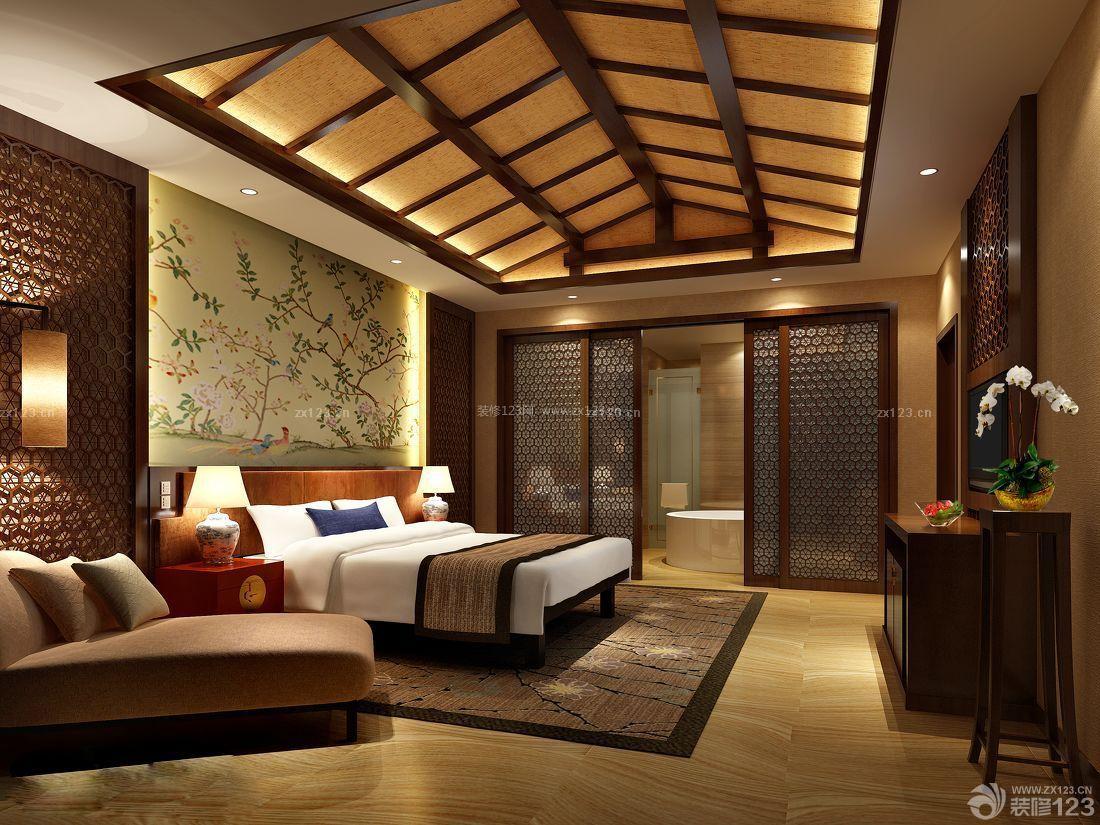 酒店客房生态木吊顶装修图片大全