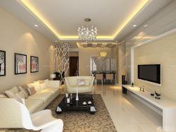 現代風格新房客廳裝修顏色搭配效果圖