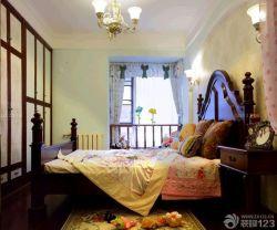 歐式主臥室古典床裝修設計圖