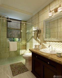 家庭衛生間藝術玻璃隔斷設計圖