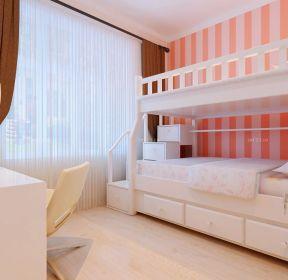兒童臥室高低床設計圖 -每日推薦