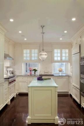 小戶型陽臺改廚房 美式現代風格裝修