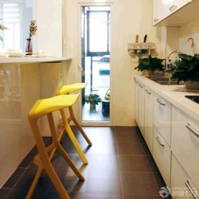 小戶型陽臺改廚房 42平米小戶型
