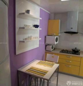 小戶型陽臺改廚房 極簡風格