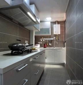 小戶型陽臺改廚房 簡歐混搭風格