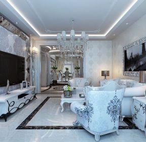 新古典客廳裝修案例-每日推薦