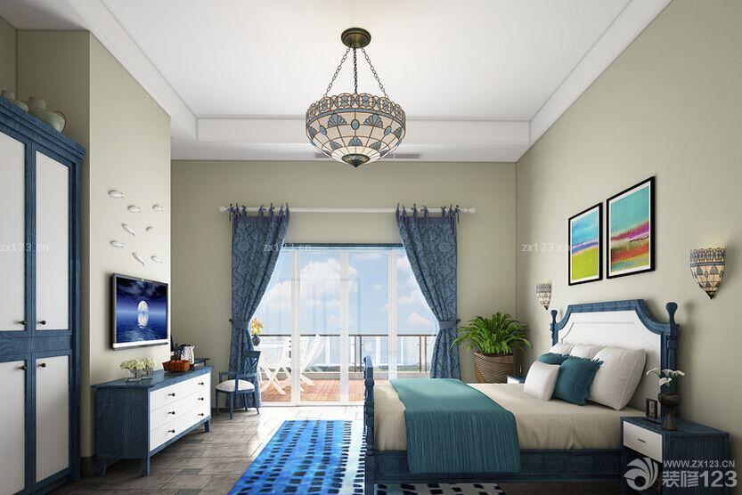 最新地中海风格主题酒店房间设计图