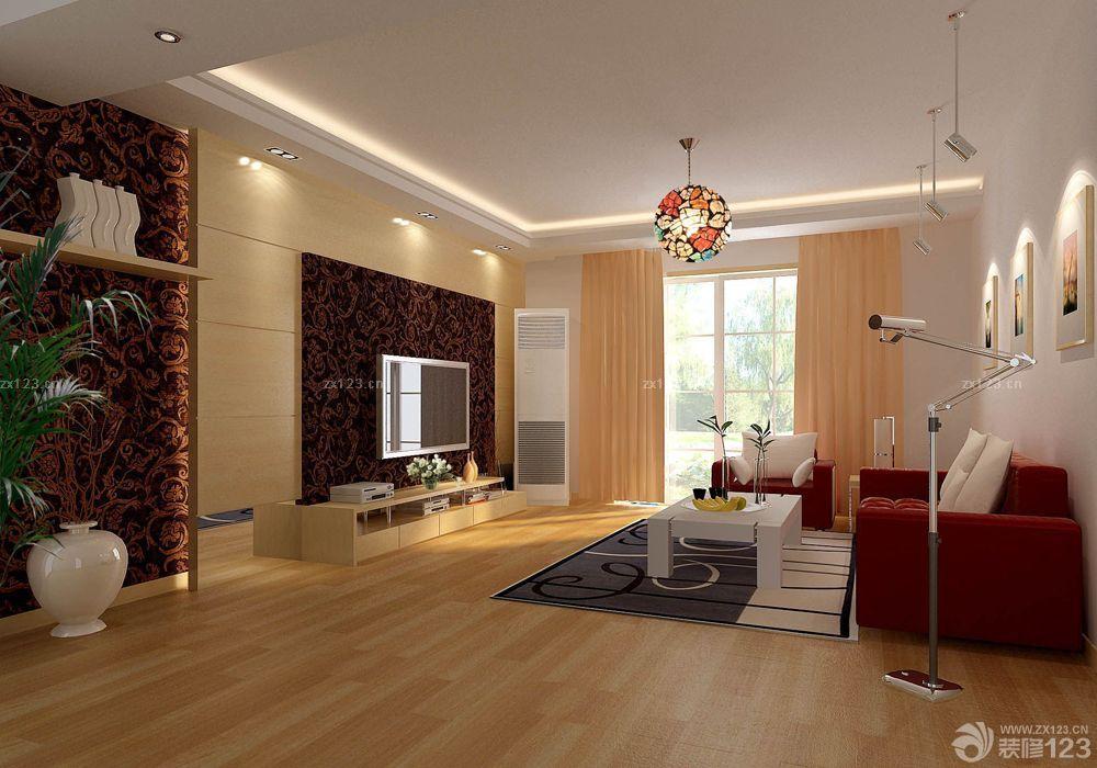 室内客厅灯光设计效果图大全