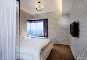 9平米卧室 压纹壁纸