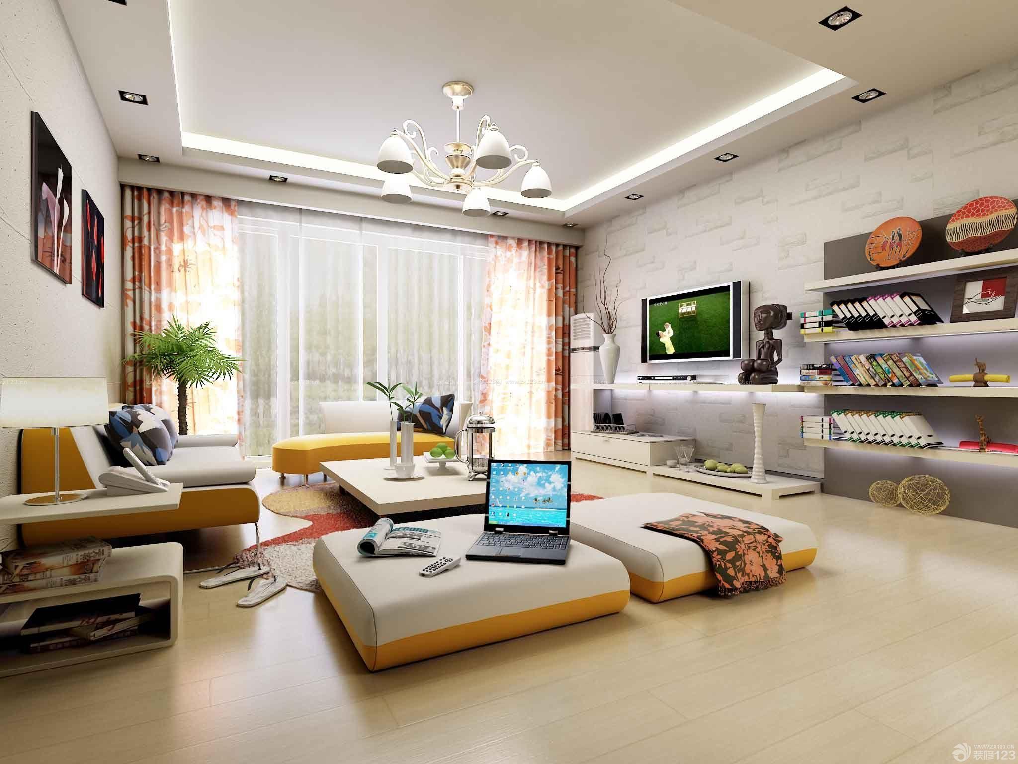 混搭风格30平米公寓装修效果图