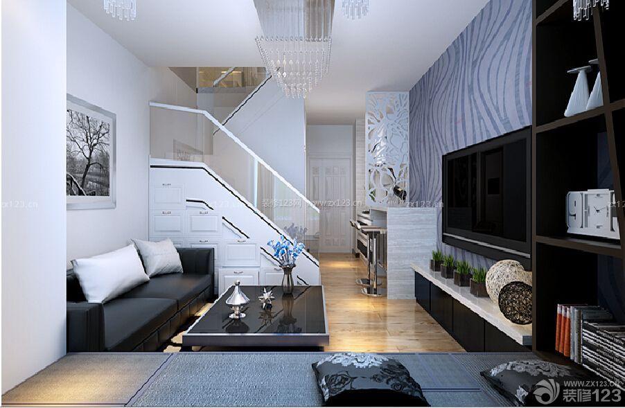 哈尔滨市群里-星光耀loft40平米跃层现代风格