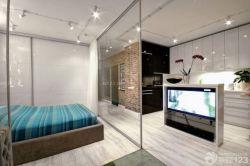 居室玻璃隔斷設計圖