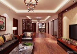 新中式風格客廳大理石茶幾設計圖