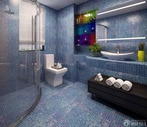 马赛克地面 浴室装修马赛克