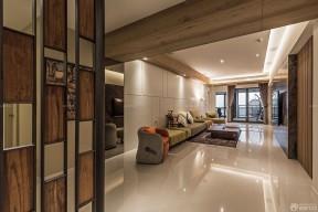 現代客廳 三室一廳室內