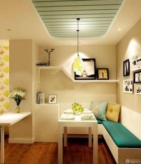 现代风格小户型一室改两室客厅装修效果图