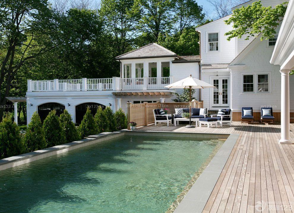 别墅游泳池设计图片