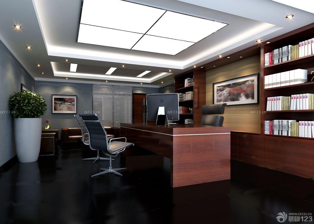 办公室吊顶吸顶灯装修图片大全