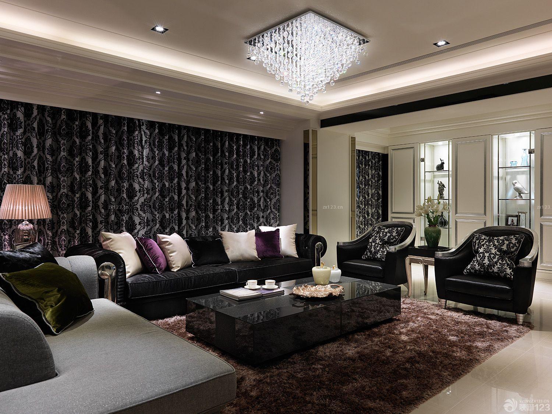 最新欧式风格家居客厅装修案例