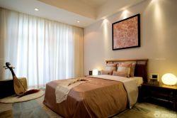 中式臥室雙人床設計圖
