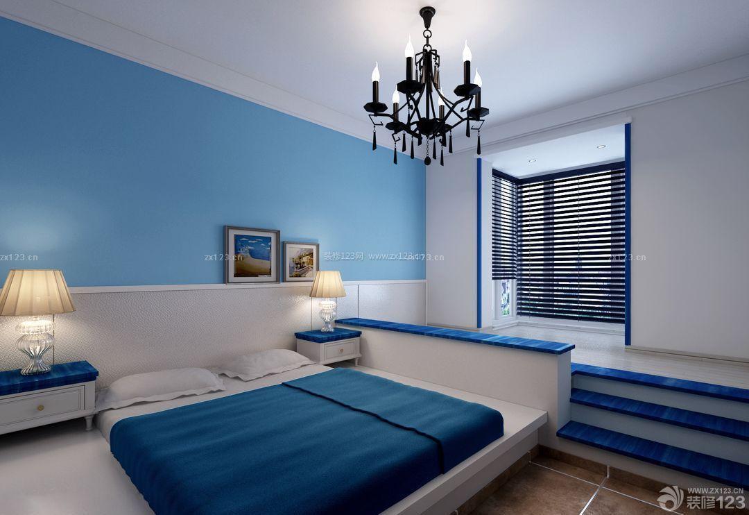 地中海风格小户型卧室装修案例图片