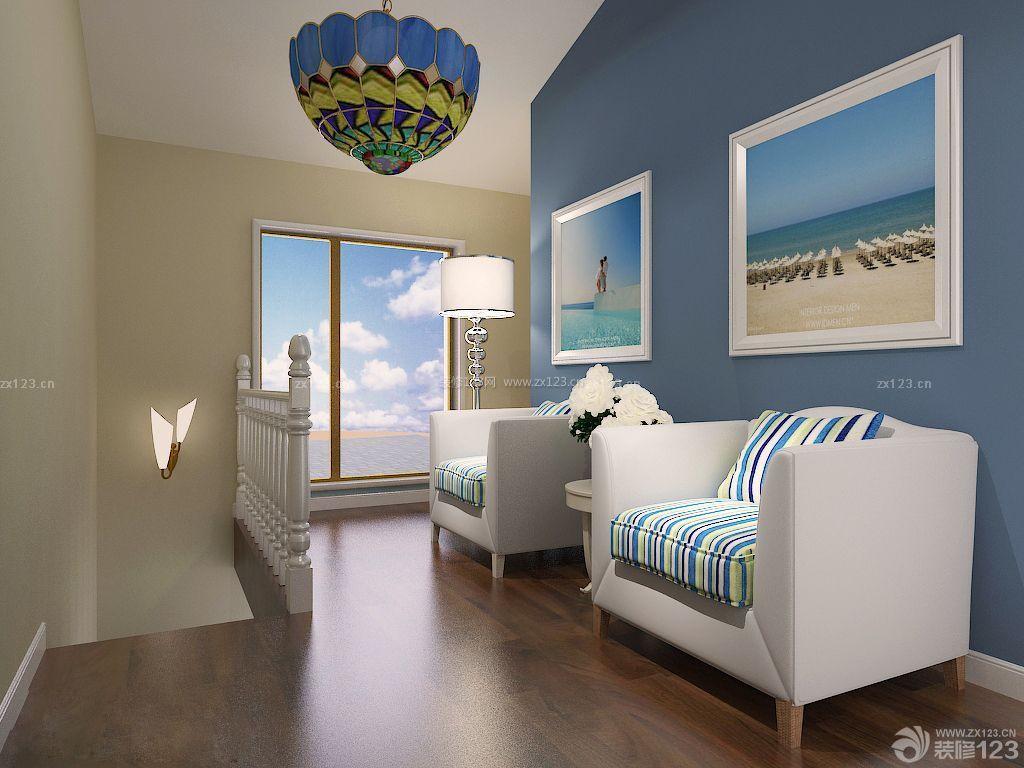 交换空间80小户型复式楼装修案例图片