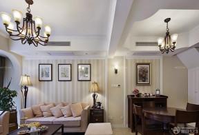 40平方一室一厅 沙发背景墙