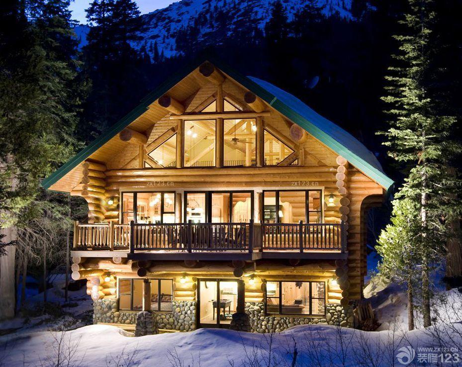 经典别墅小木屋设计案例