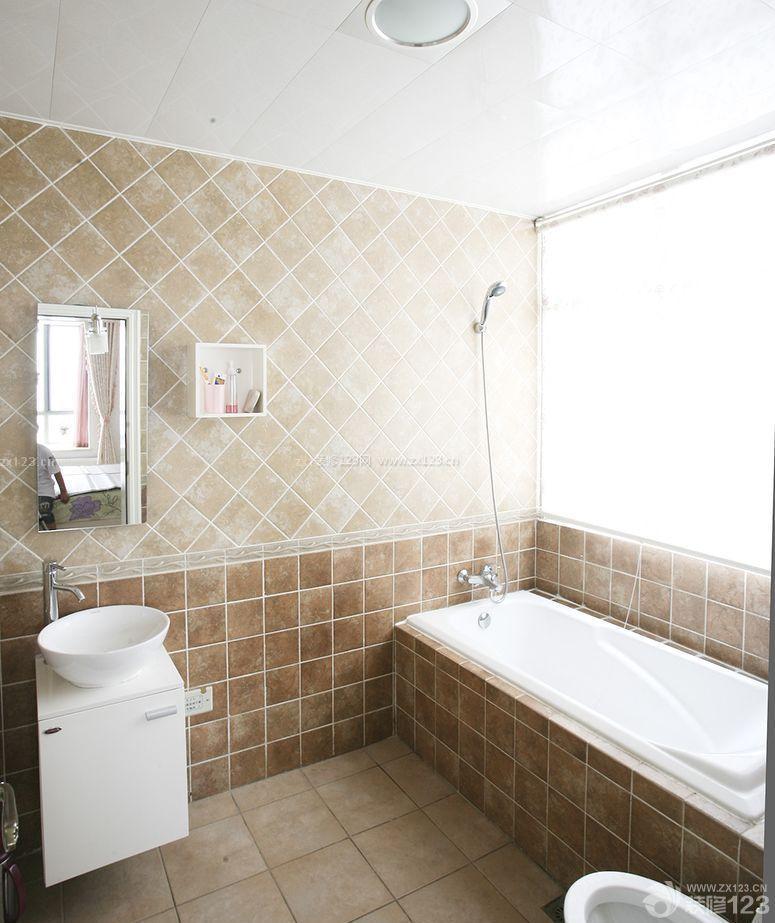 小卫生间小格子砖墙面装修图片图片