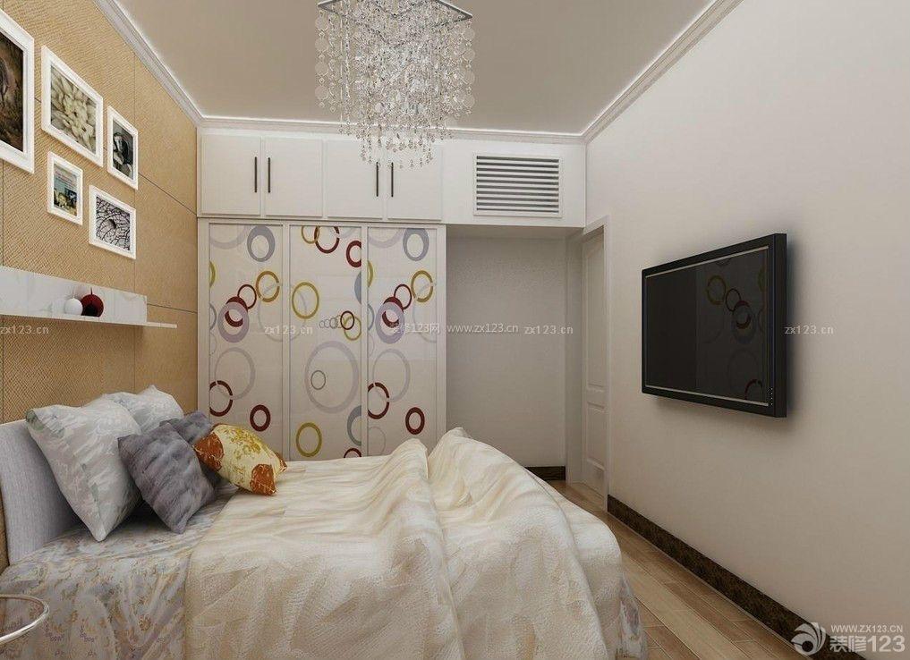 现代简约风格样板房小房间装修图片