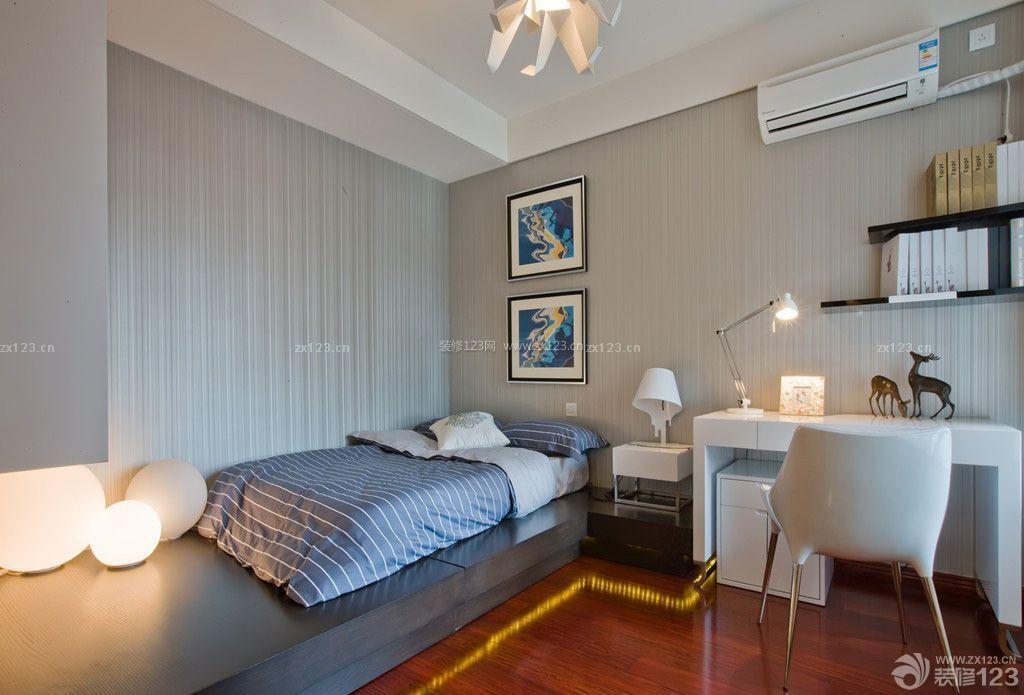 现代风格小房间装修样板房图片图片