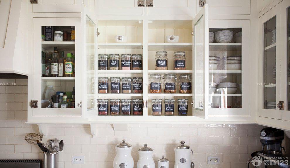 厨房储物架装修设计图片