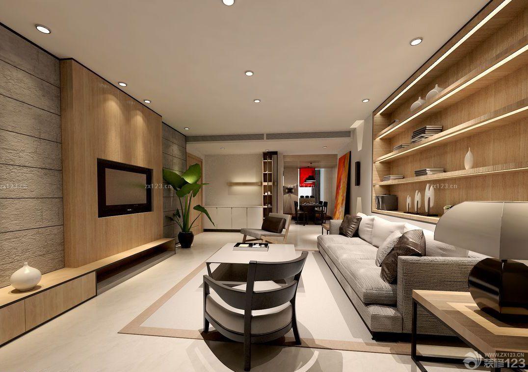 家装效果图 日式 精致日式客厅背景墙展示架设计效果图 提供者:   ←