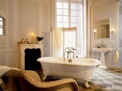 三室兩廳一衛美式鄉村風格衛浴裝修效果圖