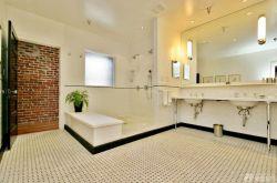 三室兩廳一衛美式鄉村風格衛浴設計圖片