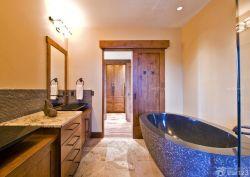 三室兩廳一衛美式鄉村風格衛浴裝修圖片