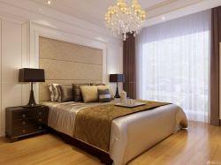 主臥室軟包床頭背景墻設計圖