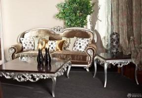 歐式古典家具 家裝樣板間