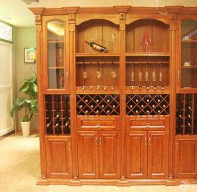 效果图 634 中式客厅鸡翅木家具摆放图片 1003 家庭实木酒柜设计图