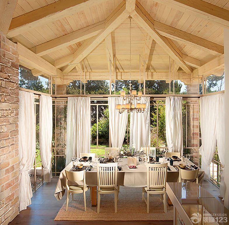 美式风格阳光房装修效果图大全图片