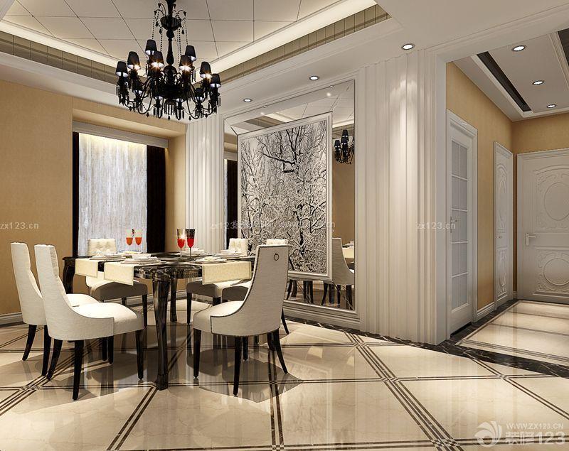 欧式风格客厅门槛石装修效果图欣赏