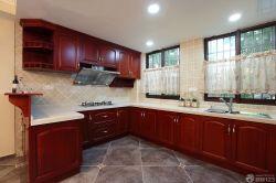 2015最新廚房鋁合金組合柜裝飾設計圖賞析