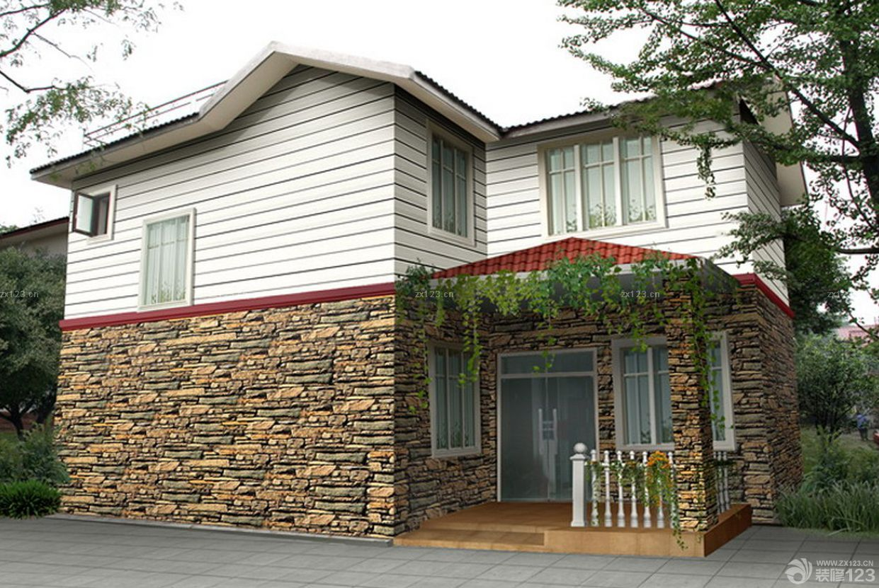 农村自建房外观设计复式楼设计效果图