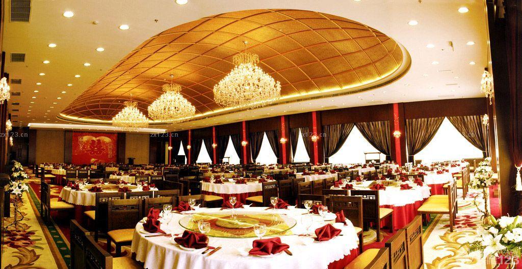 宴会厅欧式吊灯装修图片