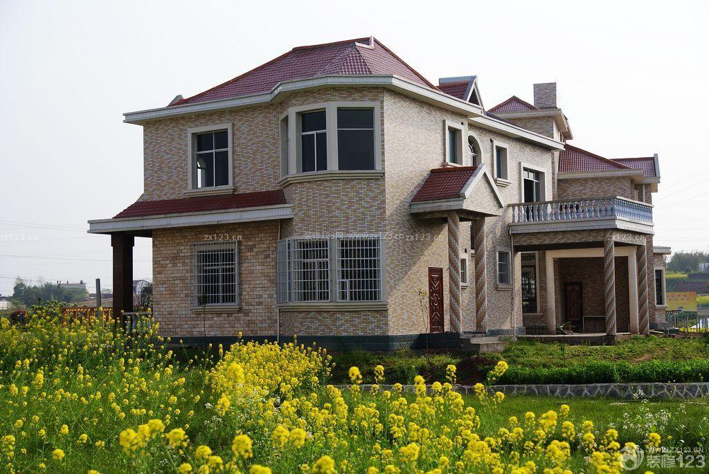 农村自建房外观设计瓷砖装修样板
