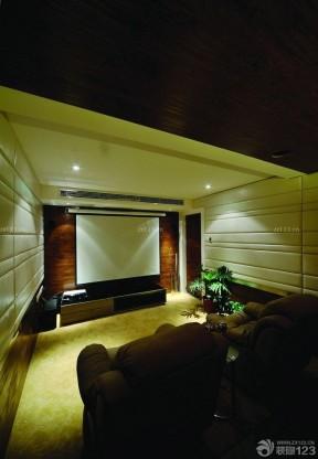 家庭室內 家庭影院裝修案例