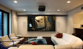 家庭影院裝修案例 室內客廳